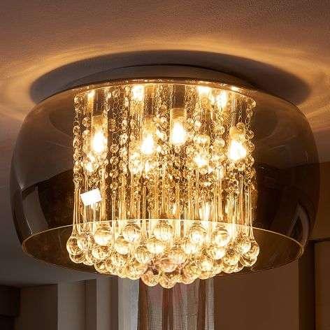 Tyylikäs LED-kristallikattovalaisin Leona-9620801-313