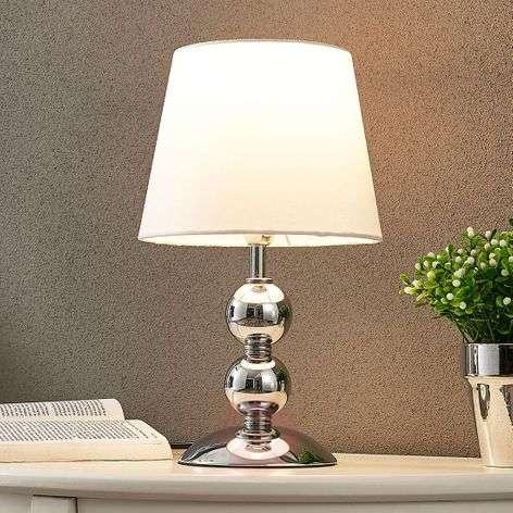 Tyylikäs LED-pöytävalaisin Minna, satiinipinta