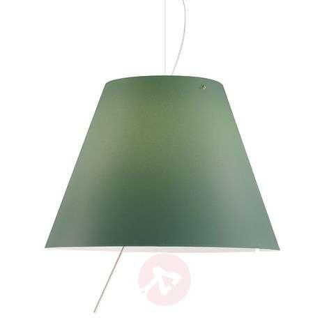 Tyylikäs LED-riippuvalaisin Costanza, vihreä