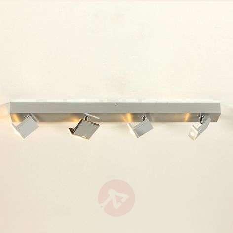 Tyylikäs nelilamppuinen LED-spotti Elle, himmennys-1556130-31