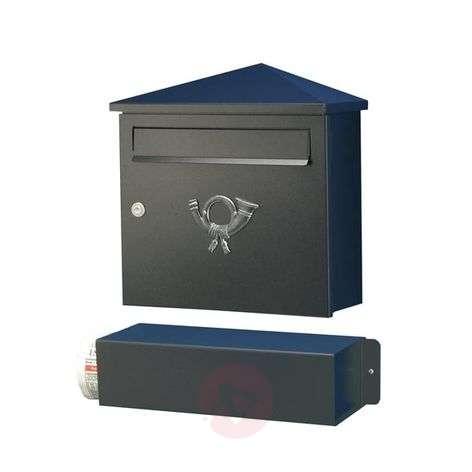 Tyylikäs postilaatikko LUCIO, musta