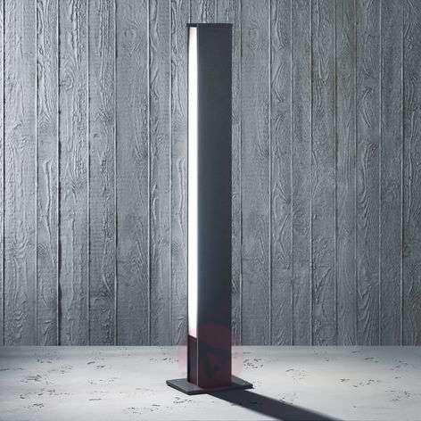 Tyylikäs pylväsvalaisin Tendo 108 cm kaksipuolinen