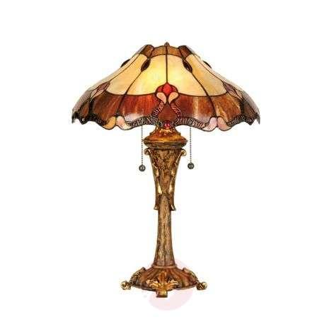Tyylikäs Tiffany-tyylinen Cambria-pöytävalaisin
