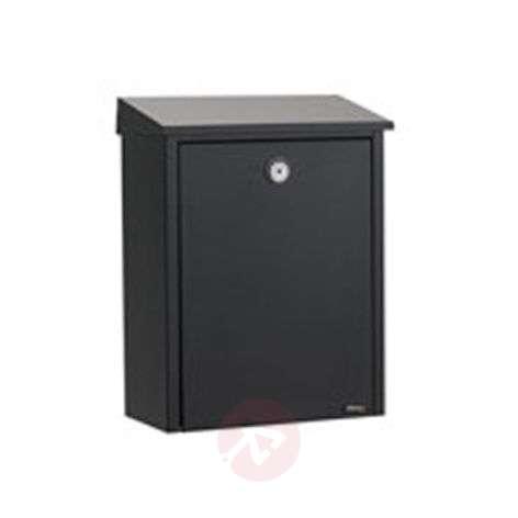 Ulkoasultaan pelkistetty teräksinen postilaatikko-1045098X-31