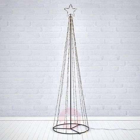 Ulkotiloihin - LED-puusiluetti Torn 250-lamppuinen