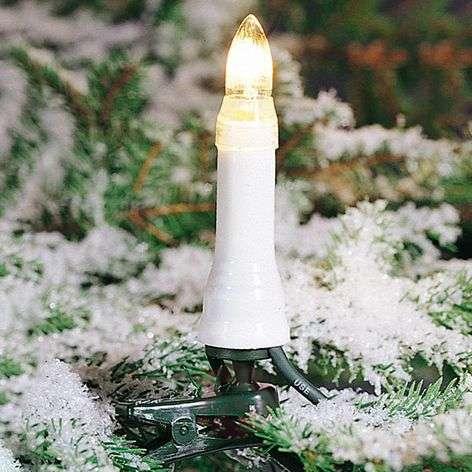 Ulkovaloketju, kynttilälamput