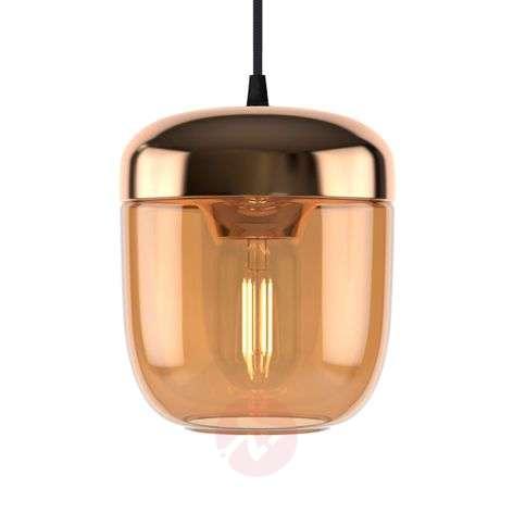 UMAGE Acorn riippuvalo 1 lamppu meripihka messinki
