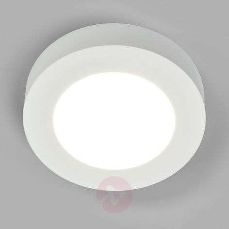 Universaalin valkoinen Marlo-LED-kattolamppu, IP44
