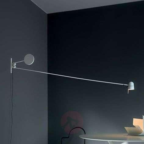 Upea Counterbalance-LED-seinävalaisin, valkoinen
