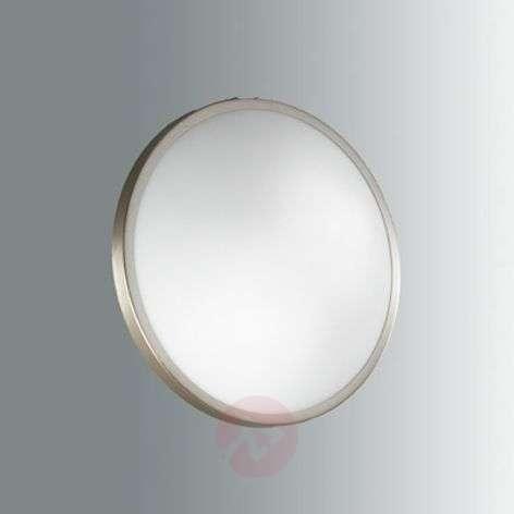Vähäeleinen PLAZA-LED-kattovalaisin, nikkeli