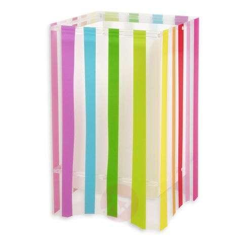 Värikäs lastenhuoneen raitapöytävalaisin Decoline-2507331-31