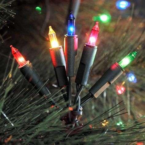 Värikäs LED-valoketju