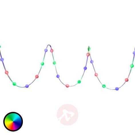 Värikäs LED-valoketju Silly RGB