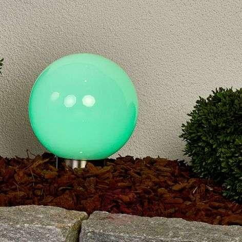 Värikäs-loisteinen RGB-LED-solarpallo Friederika
