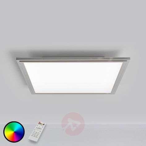 Värikäs RGB-LED-paneeli Carina, kaukosäädettävä
