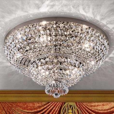 Vaikuttava kristallikattovalaisin Sheraton, kromi