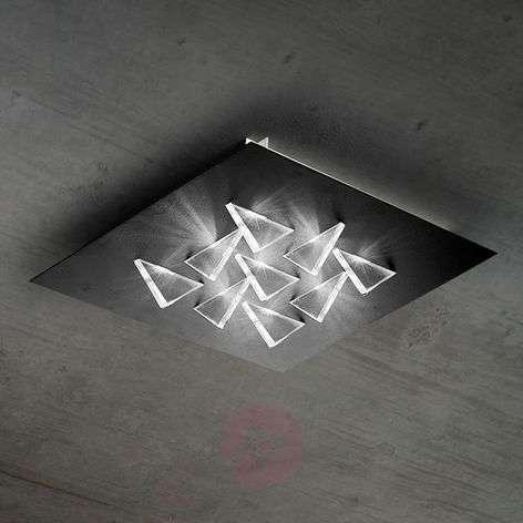Vaikuttava LED-kattolamppu Cristalli
