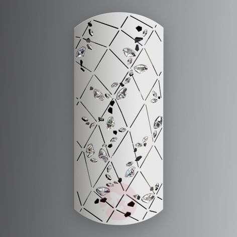 Valk. Apta-seinälamppu kristalleilla, 37 cm