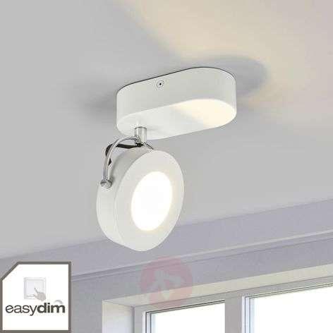 Valkoinen Allora LED-seinäspotti, EasyDim