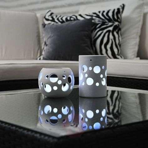 Valkoinen aurinkokäyt. LED-valaisin NEW GENOVA-5522258X-31
