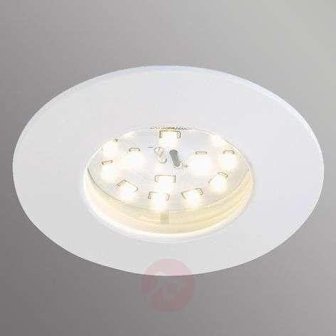 Valkoinen Felia-LED-uppovalaisin, IP44