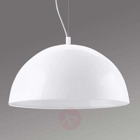 Valkoinen Gaetano-LED-riippuvalaisin, 38 cm