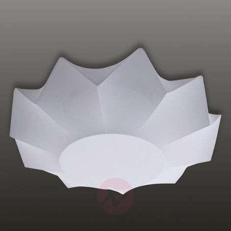 Valkoinen kankainen Art-kattovalaisin 60 cm-1069006-31