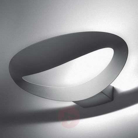Valkoinen LED-design-seinävalaisin Mesmeri