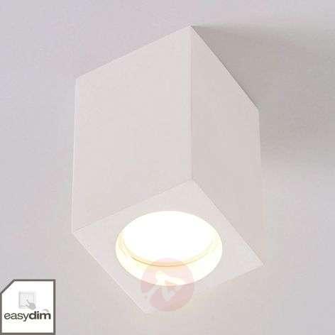 Valkoinen LED-downlight Fritzi, Easydim-tekniikka