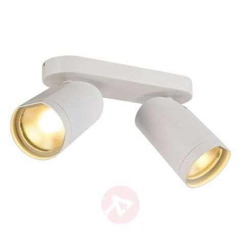 Valkoinen LED-kattovalaisin Bilas 2-lamppuinen