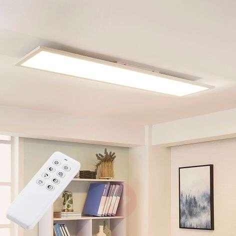 Valkoinen LED-kattovalaisin Lysander, himmennys