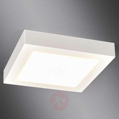 Valkoinen LED-kylpyhuone-kattovalaisin Rayan