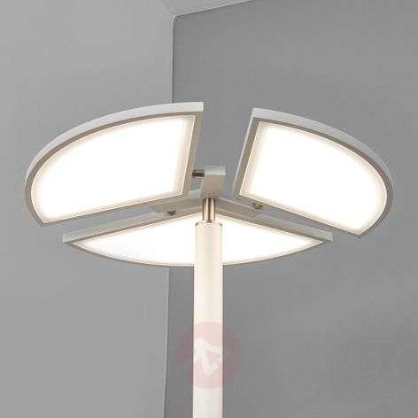 Valkoinen LED-lattiavalaisin Aurela
