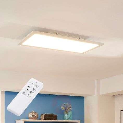 Valkoinen LED-paneeli Lysander, himmennettävä