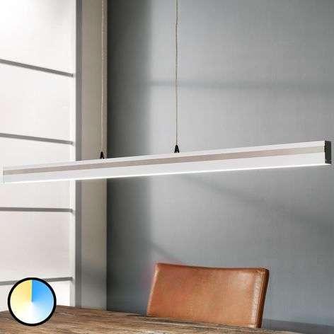 Valkoinen LED-riippuvalo Robert, 2700–6500 K