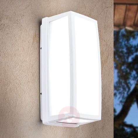 Valkoinen LED-ulkoseinävalaisin Bob IP54 alumiinia-7255348-31