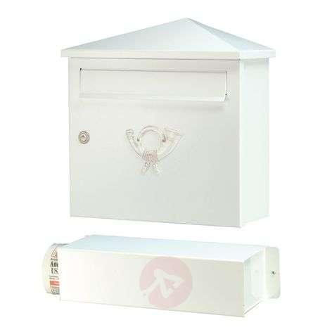 Valkoinen postilaatikko LUCIO