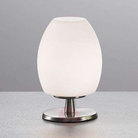 Valkoinen ROCKFORD-pöytävalaisin, 18 cm korkea-3502179-31
