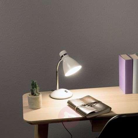 Valkoinen Studio-työpöytälamppu
