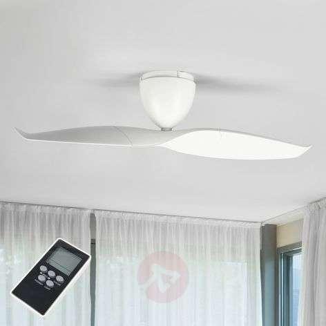 Valkoinen Wave-kattotuuletin 109,2 cm
