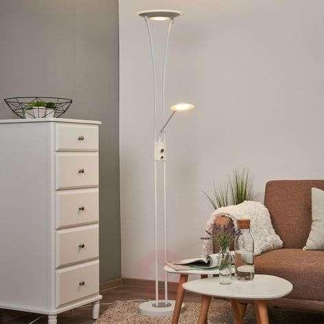 Valkoinen ylössuunnattu LED-valaisin Eda