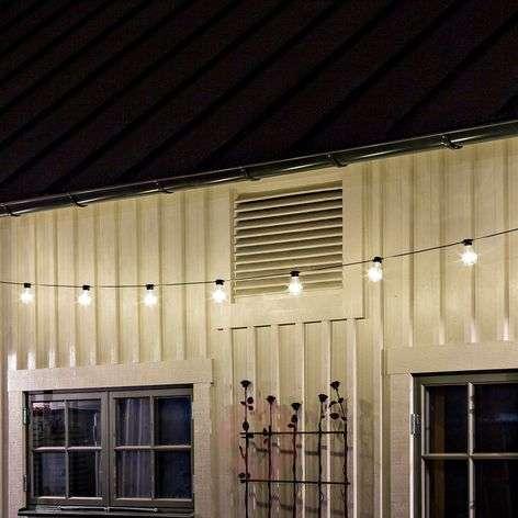 Valoketju Biergarten 10-lampp. lämmin valkoinen