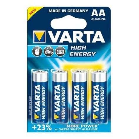 VARTAn High Energy Mignon 4906 AA -paristot
