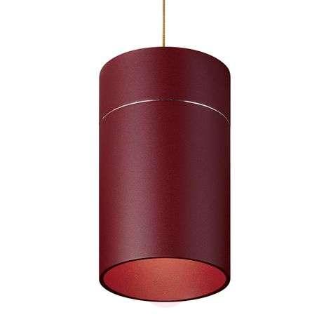 Vetävä Tudor L riippuvalo 18,5 cm punainen matta