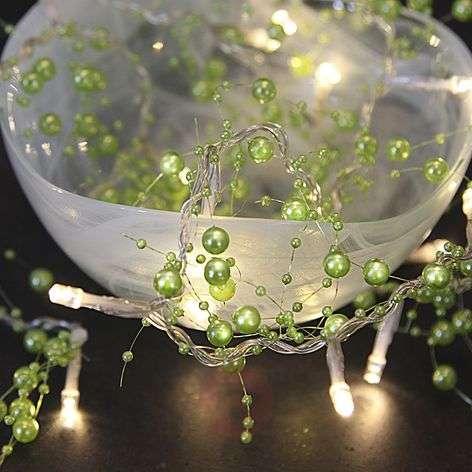 Vihreä LED-valosarja Pärla Garland