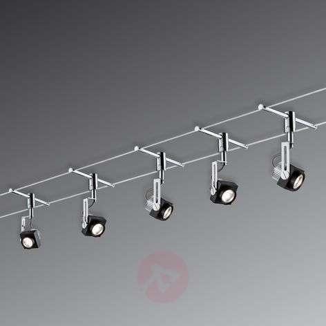 Viiden lampun LED-kokonaisvaijerijärjestelmä Phase
