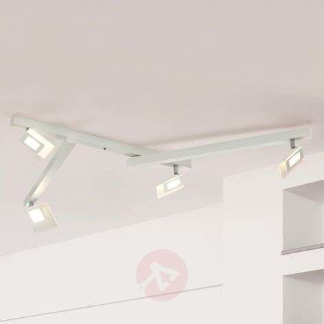 Viisilamppuinen valkoinen LED-kattovalaisin Line-1556069-31