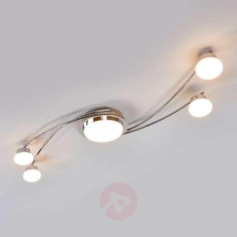 Vitus - krominvärinen LED-kattolamppu