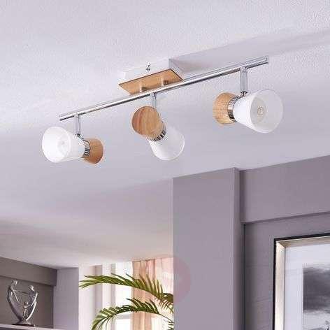Vivica - 3-lamppuinen kattovalaisin, puusomisteet