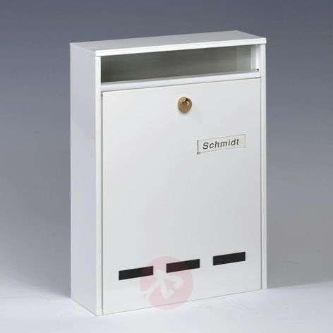 Wismar-ryhmäpostilaatikko tyyppi DIN A4, valkoinen-1532112-31
